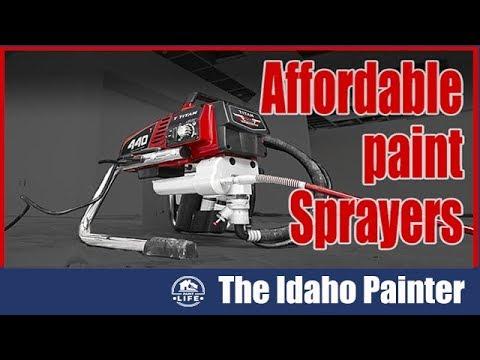 The BEST Paint Sprayer 2018