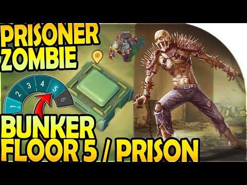 PRISONER ZOMBIE BOSS at BUNKER FLOOR 5 / PRISON - SGT. KOWALSKI - Last Day on Earth Survival 1.9.7