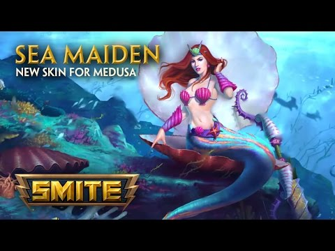 SMITE - New Skin for Medusa - Sea Maiden