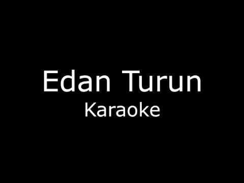 Edan Turun (Karaoke/lirik) Cover
