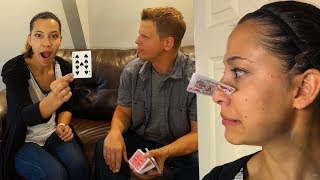 Magic Tricks & Card Throwing Trick Shots w/ Rick Smith Jr.