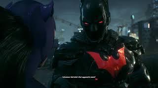 Batman Arkham Knight True Ending at 100% Completion