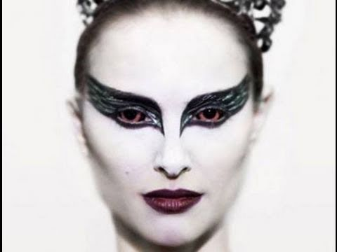 Aninimal Book: Black Swan Make up Look - YouTube