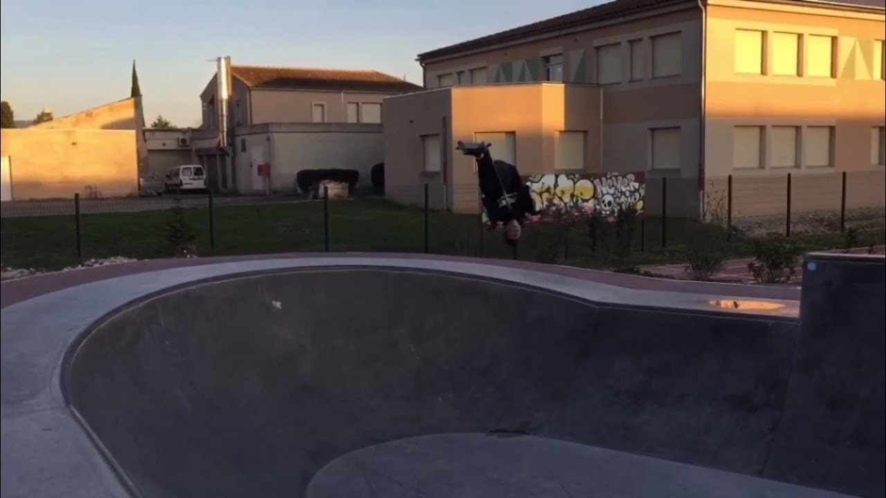 SESSION AU THOR ! BACKFLIP DROP+NEW LEARN !!!
