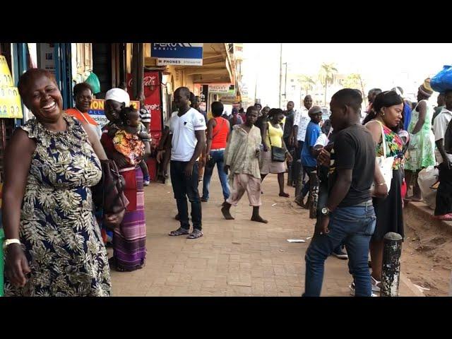 Miraculous healing on the street in Kampala, Uganda!