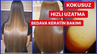 Hızlı saç uzatma yöntemleri kadın evde