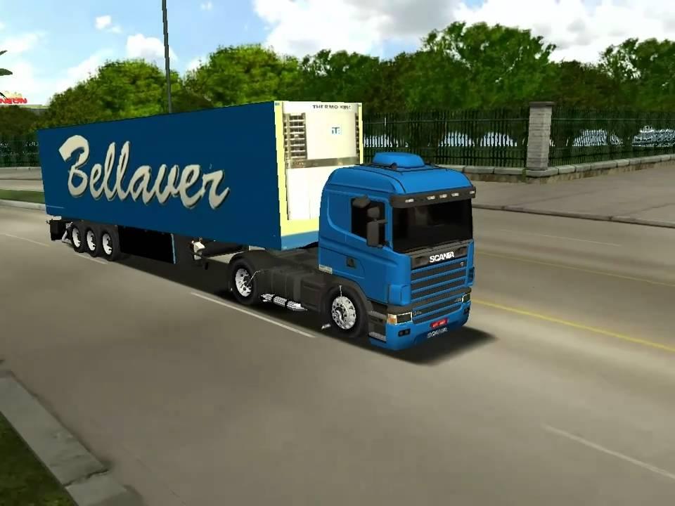 18 wheels of steel haulin scania 124