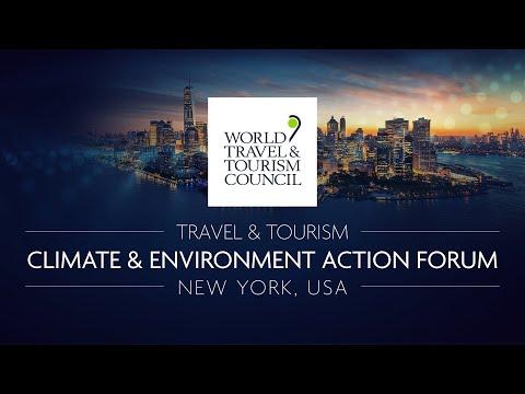 Livestream: WTTC Travel & Tourism Climate & Environment Action Forum