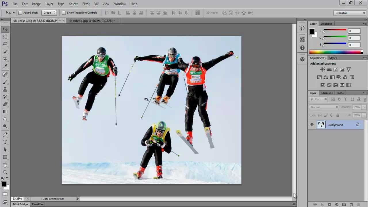 how to use patch tool photoshop cs5
