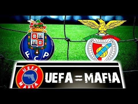 ♫ ROUBADOS NA UEFA | PARÓDIA BENFICA e PORTO |  CON CALMA!