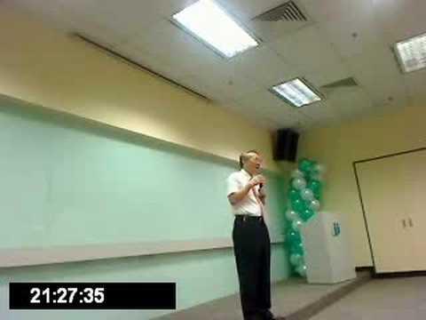Health Management Origin C.K Tsao Speak in Kuala Lumpur 5/7