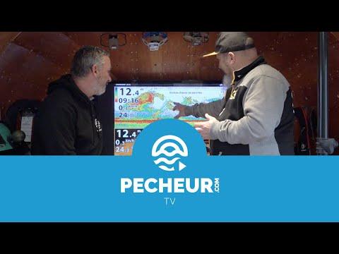 Décryptage d'une vue 2D d'un sondeur Humminbird - Tutoriel Pecheur.com
