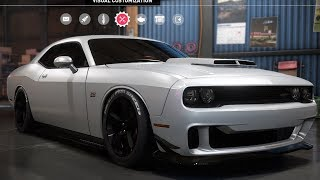 Need For Speed: Payback - Dodge Challenger SRT8 - Customize | Tuning Car (PC HD) [1080p60FPS]