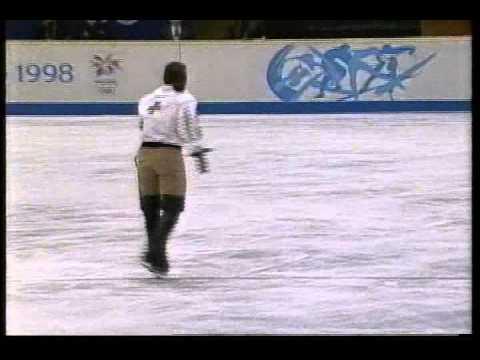 Philippe Candeloro FRA  1998 Nagano, Figure Skating, Men's Free Skate