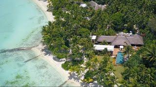 Beachfront Villa Estate Tour at Four Seasons Resort Bora Bora
