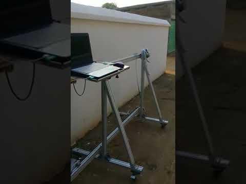HAE New Wall Inkjet Printer working video