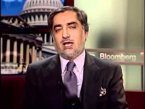 Charlie Rose - Interview - DR Abdulla Abdulla Afghan political man  in Washington DC