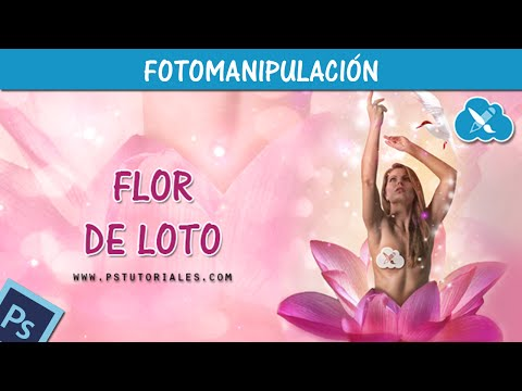 Flor de Loto Photoshop Tutorial