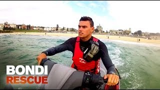 Lifeguard Spots UFO: Unidentified Floating Object | Bondi Rescue S9