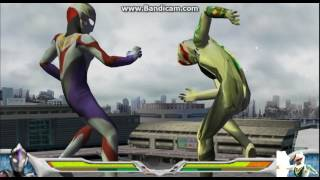 (PPSSPP) Ultraman Fighting Evolution 0 Ultraman Orb Specium Zepelion Vs Mirror Knight