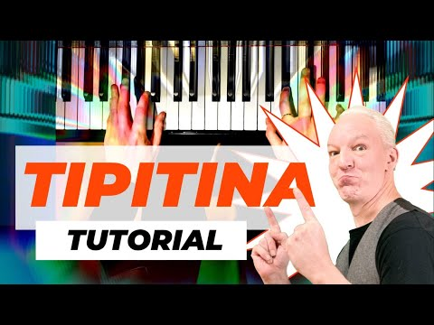 How to play Tipitina, original in F as played  by Professor Longhair. New Orleans Piano