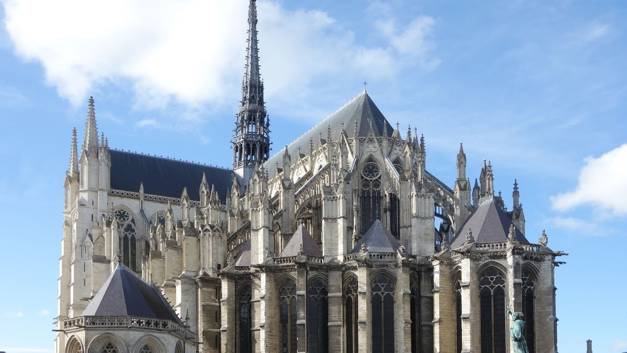 amiens cathedral youtube