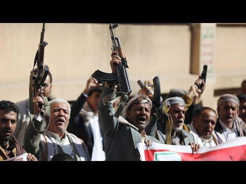 الحوثيون يعلنون إطلاق صاروخ على منشأة لشركة أرامكو السعودية في مدينة جدة  - نشر قبل 30 دقيقة