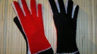 Перчатки крючком мастер-класс. (Tailoring Gloves Guide).