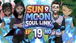 Pokémon Sun & Moon Soul Link Randomized Nuzlocke w/ Nappy + Shady - Ep 19