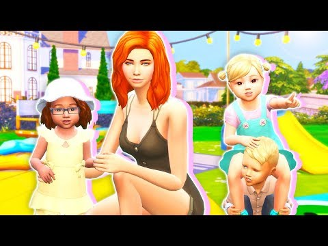 BECOME A BABYSITTER???? // THE SIMS 4   PLAYABLE BABYSITTER JOB???? – MOD REVIEW