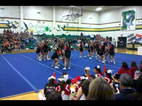 Shelton High School cheer @ Peninsula High 11-12-11