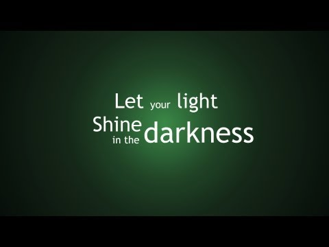 Let Your Light Shine In The Darkness - New Scottish Hymns