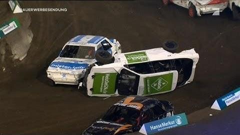 Das Rodeo-Finale - TV total Stock Car Crash Challenge