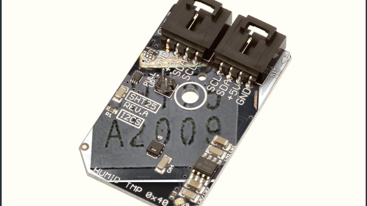 BeagleBone Black SHT25 I2C Humidity and Temperature Sensor 'C' Code Tutorial