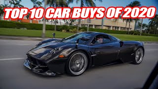OUR TOP 10 CAR PURCHASES OF 2020! *We Bought A Lot!*