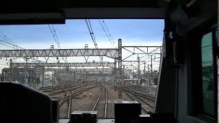 【展望風景】<JR東日本>中央本線(東線・その1)『東京>高尾』 中央特快 高尾行き E233系10輌編成 439M 20171224撮影