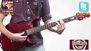 dire straits brothers in arms guitar solo lesson soloaweek 44 solo a week