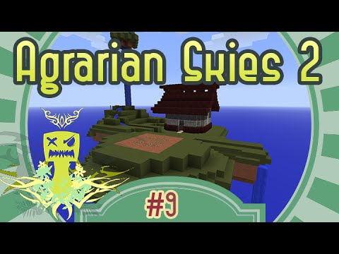 Solar Power im Crafting Tisch - Let's Play Agrarian Skies 2 #009 - Deutsch - Chigocraft