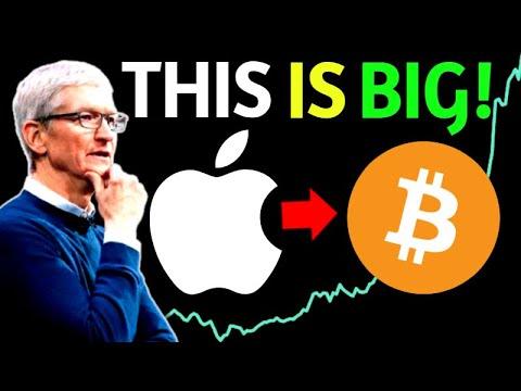 Apple To Buy Bitcoin Following Tesla's Move? Bitcoin Will Hit $50,000 Soon!