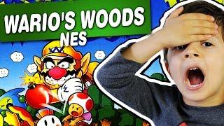 Wario's Woods - NES - Gameplay Comentado em Português
