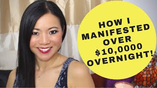 How I Manifested $10,000 Overnight (EXACT STEPS TO MANIFEST MONEY INSTANTLY & LAW OF ATTRACTION )