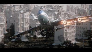 Blender Plane crash VFX breakdown