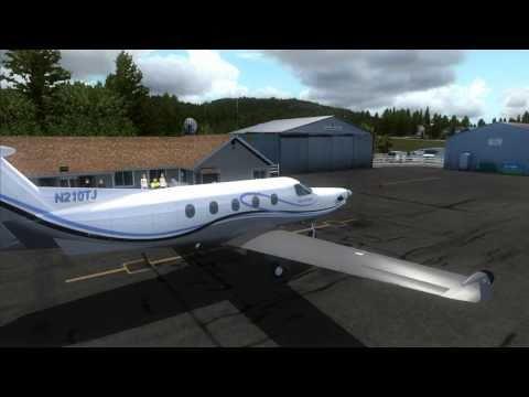 FSX - The Pilatus PC-12 (ORBX)