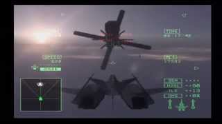 Ace Combat 5 - Destroy SOLG from the Inside