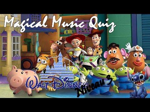 Magical Music Quiz Disney niveau 3