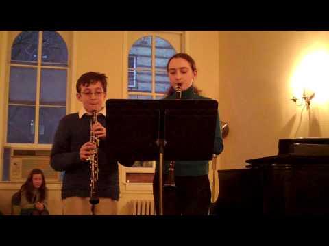 Clarinet - Oboe Mozart duet