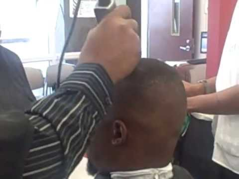 Eric Haney 'Mini Demo Of a Bald Fade.mp4
