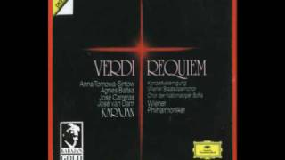 Karajan: Verdi - Requiem -  1. Requiem (coro, soli), Wiener Philharmoniker