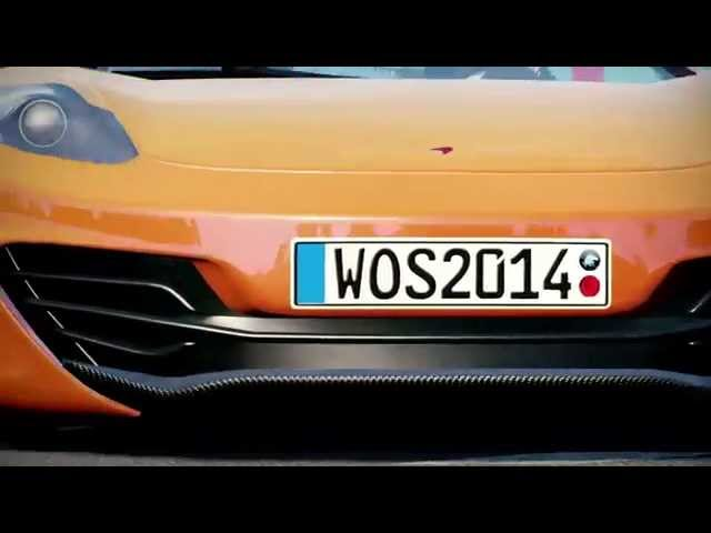 World of Speed - McLaren in Moscow Trailer