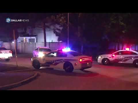 Scene of deputy wounded, suspect shot at least 22 times in shootout near Houston